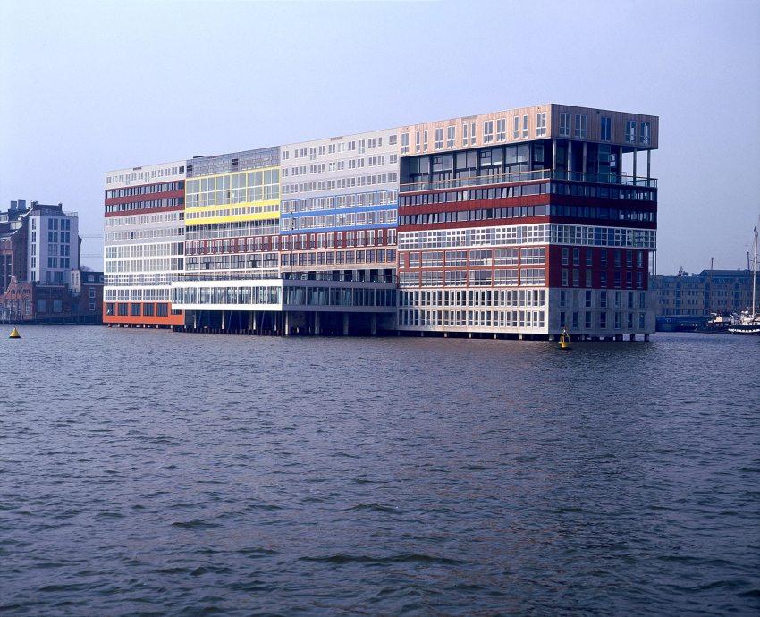 Silodam Housing Block in Amsterdam / MVRDV