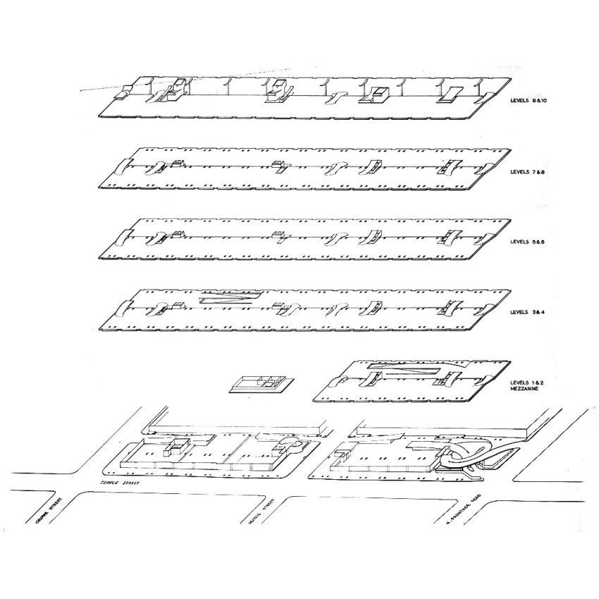 Concept - Temple Street Parking Garage / Paul Rudolph