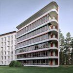 Corner - Paimio Sanatorium / Alvar Aalto
