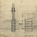 Section - Paimio Sanatorium / Alvar Aalto
