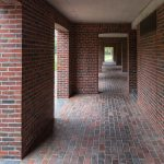 Corridor - Phillips Exeter Academy Library / Louis Kahn