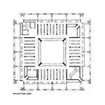 Floor Plan - Phillips Exeter Academy Library / Louis Kahn