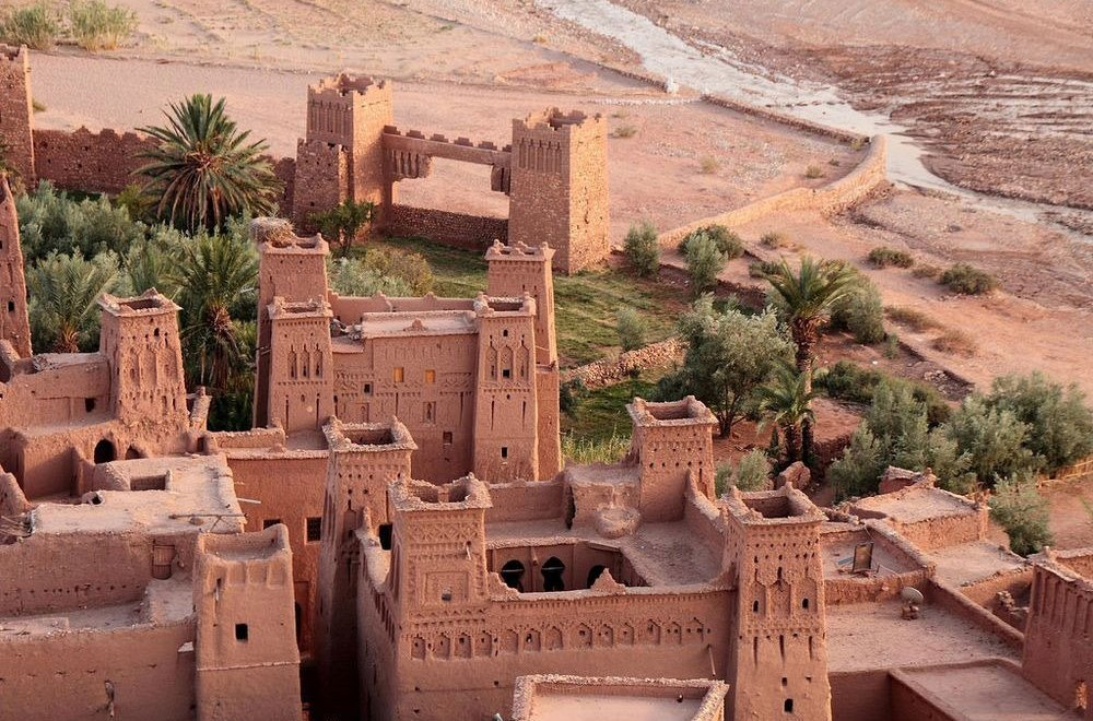Ksar Aït Benhaddou in Morocco / Unesco World Heritage