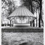 Front View - Bookshop Pavilion in Venice, / James Stirling, Michael Wilford, and Associates