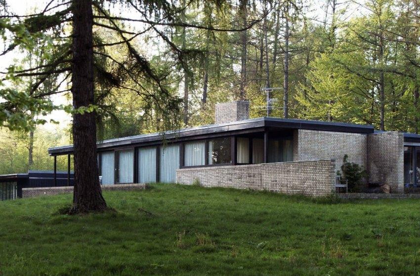 Utzon's House in Hellebæk, Denmark / Jørn Utzon