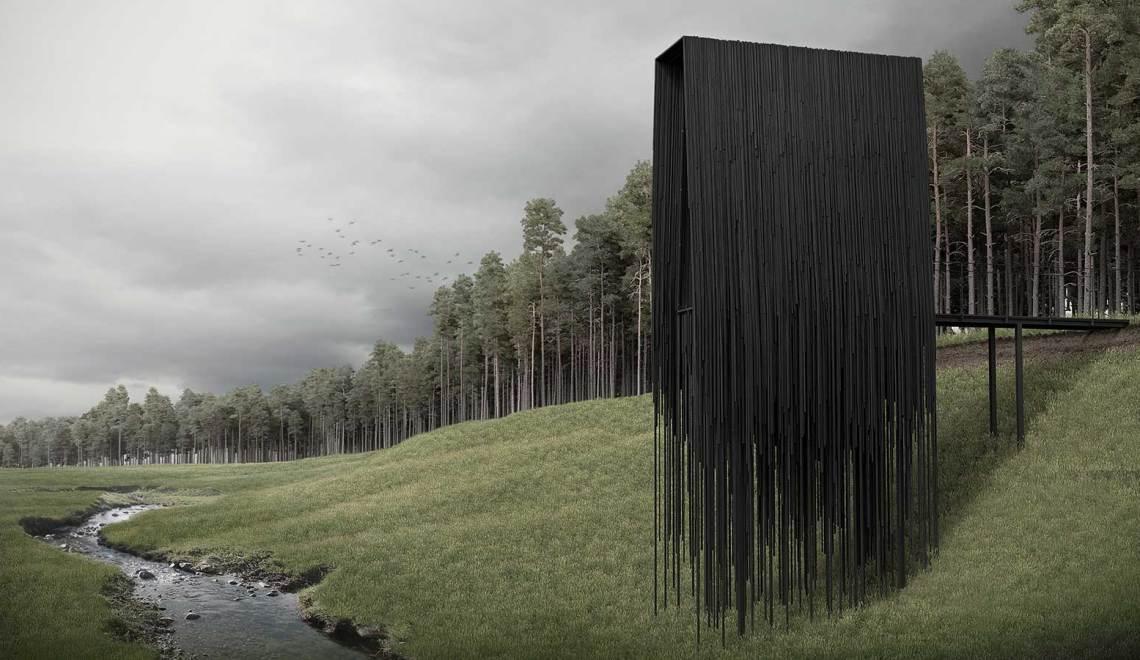 NORTH / SOUTH Twin Micro Cabins by Predrag Vujanovic