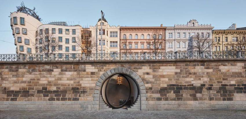City View of the revitalization of Prague Riverfront Area / petrjanda / brainwork