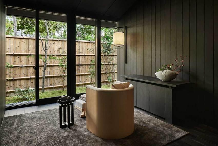 Spa - Aman Kyoto Resort / Kerry Hill Architects