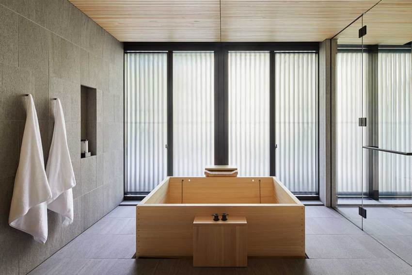 bathroom - Aman Kyoto Resort / Kerry Hill Architects