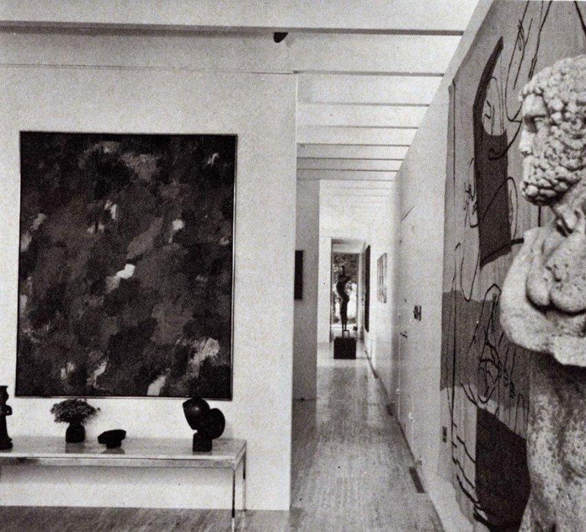 Travertine House Interior
