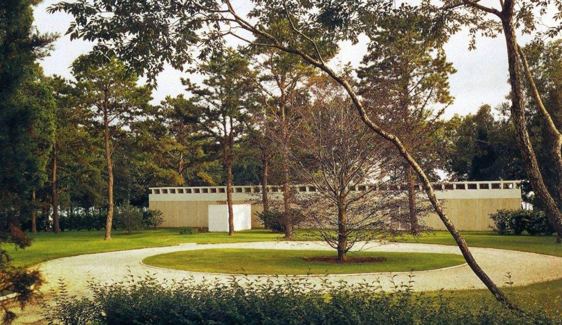 Travertine House / Gordon Bunshaft Residence