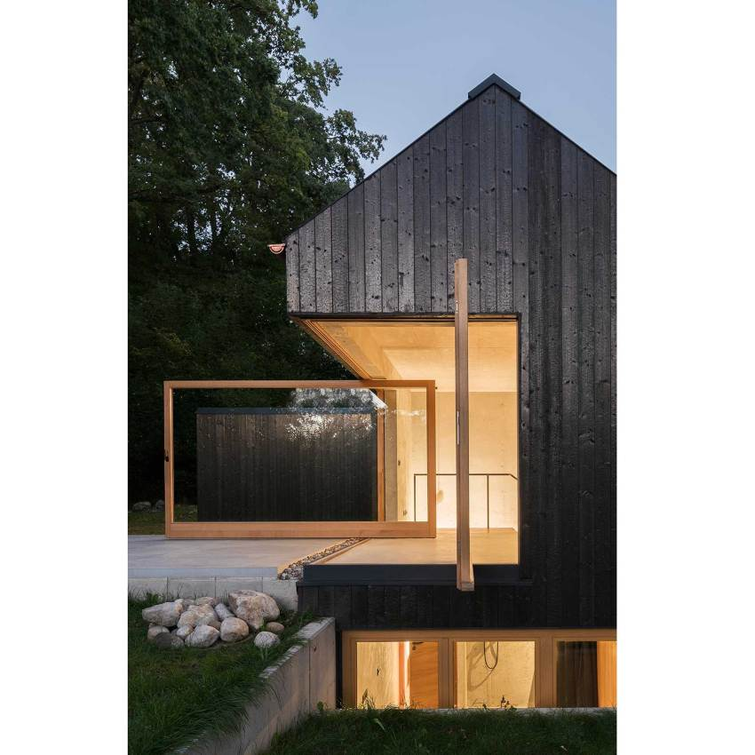 The Black House Housing by Buero Wagner
