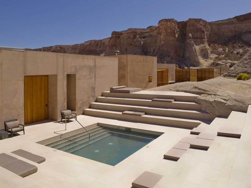 Spa Step Pool - Amangiri Resort / Marwan Al-Sayed, Wendell Burnette and Rick Joy