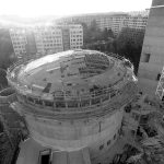 Construction works of the Dome