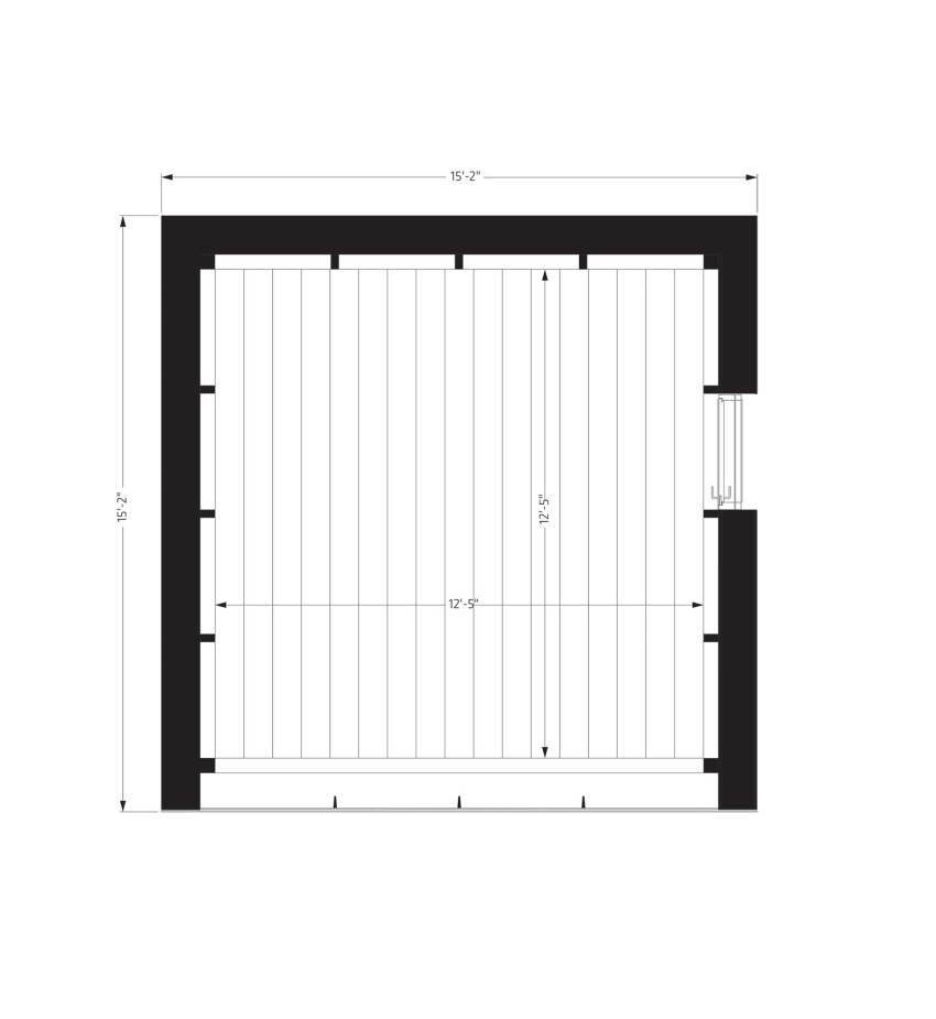 Floor Plan - Tiny House