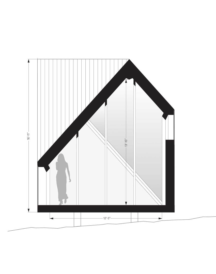 Section Plan - Tiny House