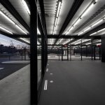 Doors - Mies van der Rohe Gas Station Conversion on Nuns Island / FABG Architects