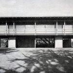 Front View Facade - Kenzo Tange's House / Villa Seijo