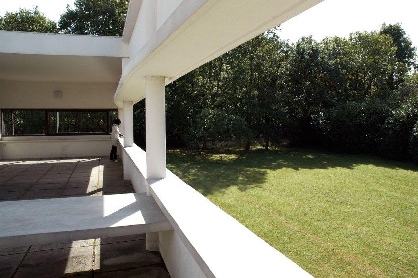 Villa Savoye Balcony View