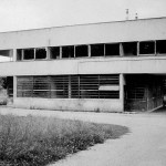 Villa Savoye before reconstruction