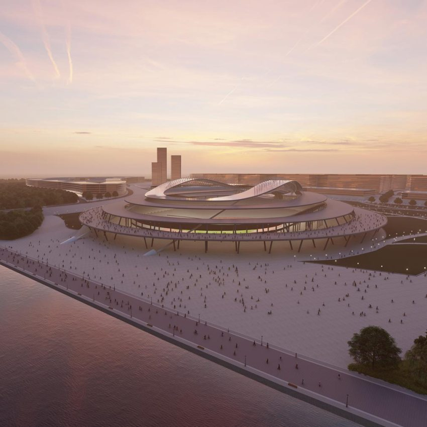 Warszawa Stadium Sports Stadium byNuno Calado