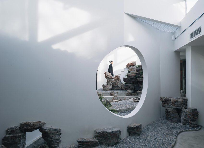 Phoenix Tree Garden Tea Space byQingfan Zhang