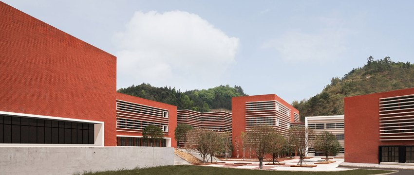 Qiannan Mountain Fire and Emergency Rescue Training Center / West-line Studio