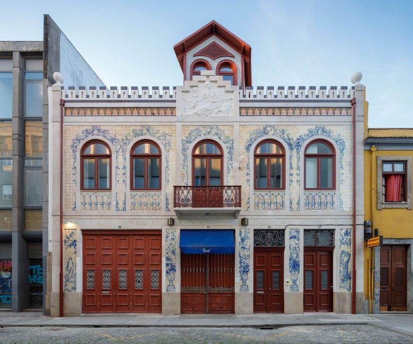 Facade of Das Devesas Factory Renovation / Anarchlab, Architecture Laboratory