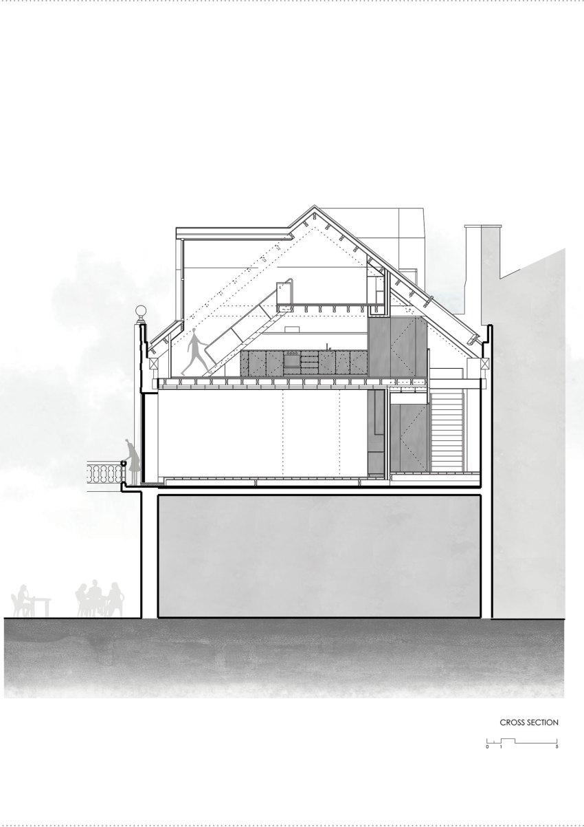 Cross-Section-Edifício Fábrica das Devesas / Anarchlab, Architecture Laboratory