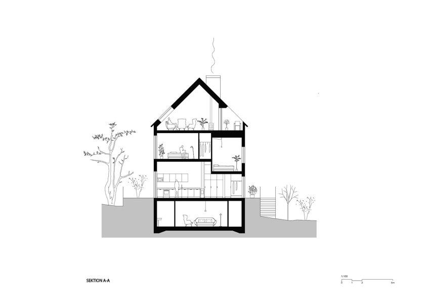 Section Plan   © Scott Rasmusson Källander