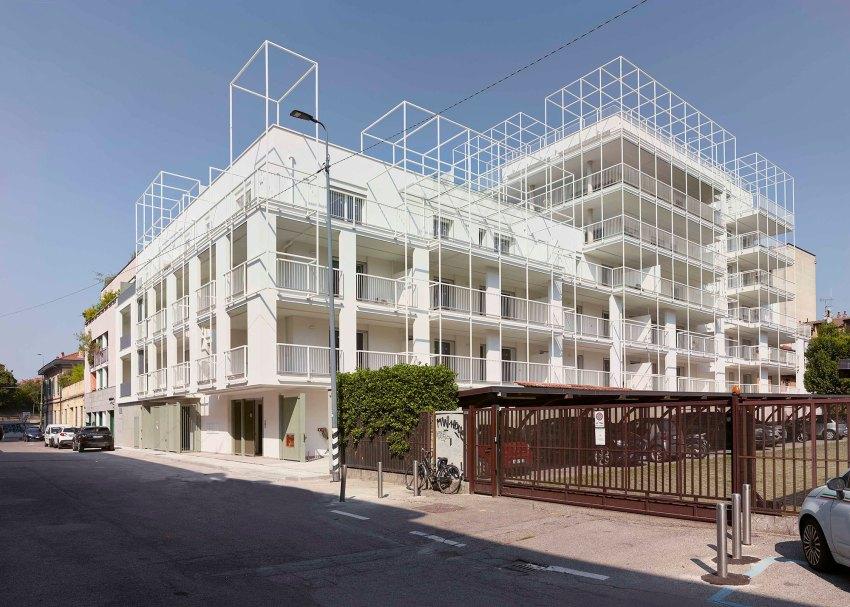 Exterior Facade - Casa Tersicore / Degli Esposti Architetti