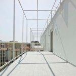 Terrace at roof level - Casa Tersicore / Degli Esposti Architetti