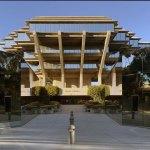 Main entrance - The Geisel Library / William Pereira & Associates