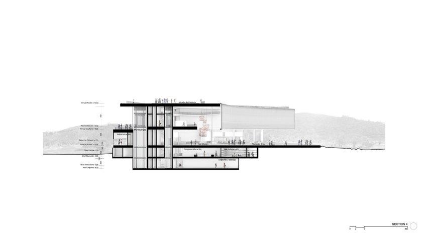 Drawing - Numu, The New Museum In Santiago De Chile / Cristián Fernández Arquitectos