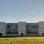 North Facade - Salk Institute for Biological Studies / Louis Kahn