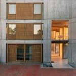 Windoes detail - Salk Institute for Biological Studies / Louis Kahn