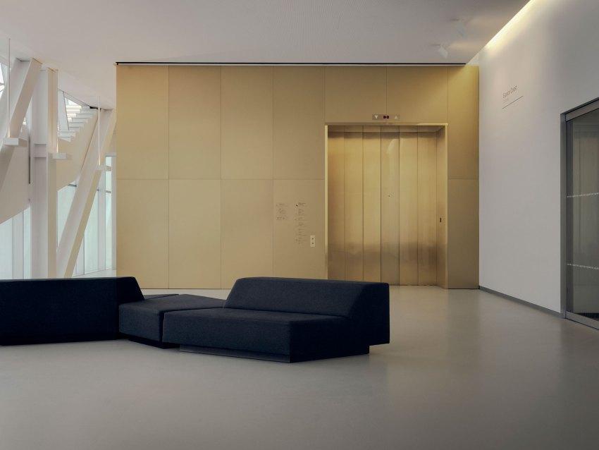 Interior - OMA's Pierre Lassonde Pavilion at MNBAQ