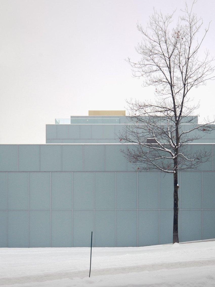 Facade - OMA's Pierre Lassonde Pavilion at MNBAQ