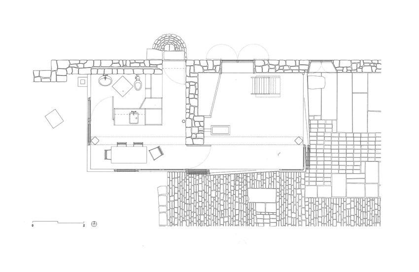 Floor Plan - Upper Lawn Solar Pavilion Folly / Alison & Peter Smithson