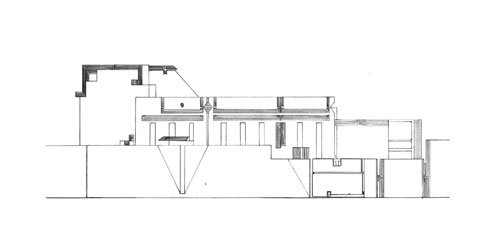 Elevation - Brion Cemetery & Sanctuary / Carlo Scarpa