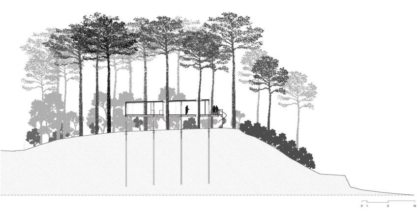 Cap Ferret House LACATON VASSAL plan