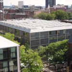 Aerial View - Yale Center for British Art / Louis Kahn