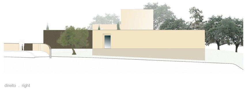 Elevation of the House by dp Arquitectos