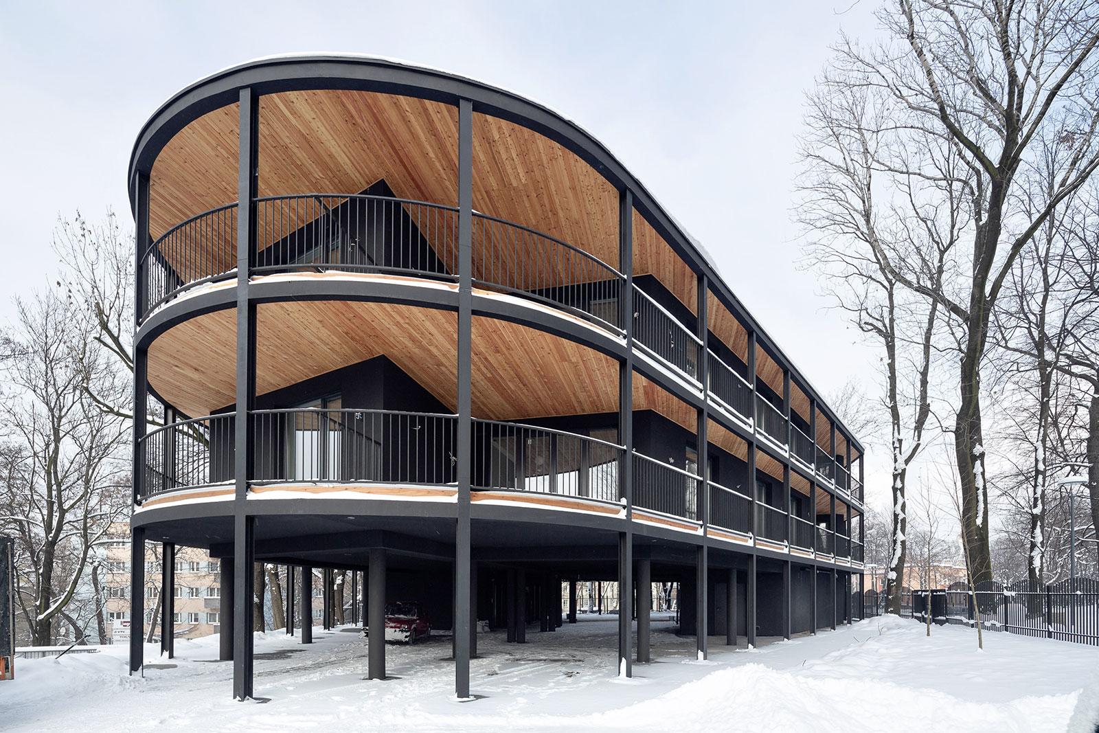 Villa Reden Apartments in Chorzów, Poland by Franta Group | ArchEyes