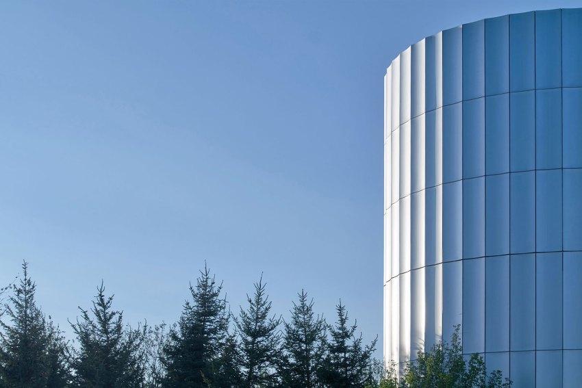 Yantai Experience Centre More Design Office ARCHEYES aluminium facade © Hai Zhu
