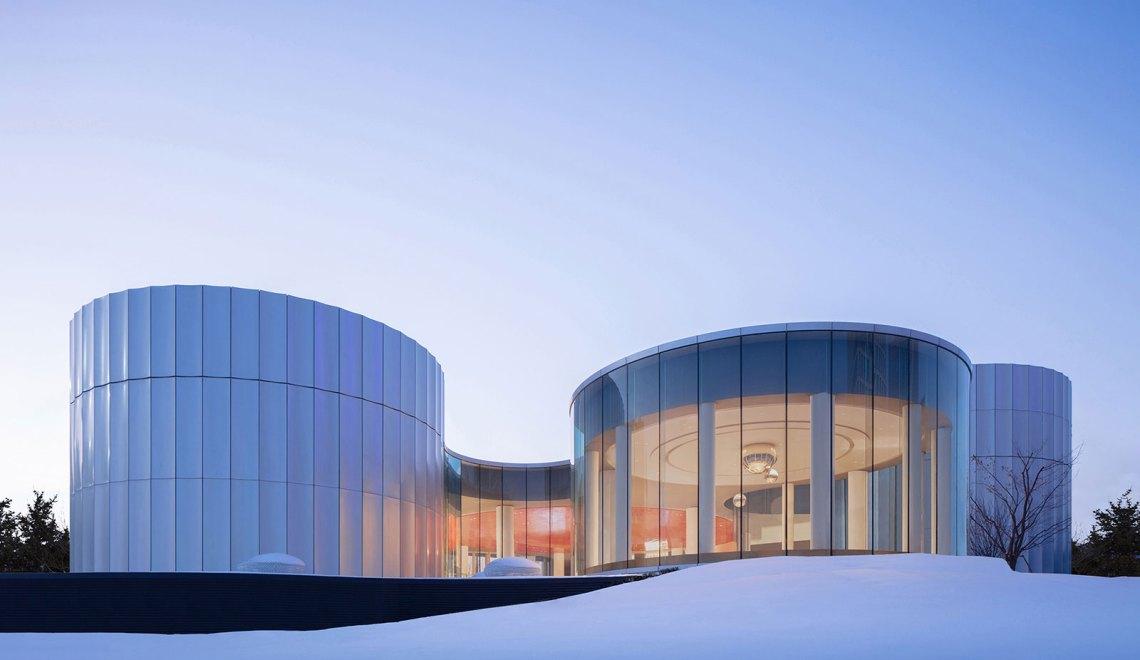 Yantai Experience Centre More Design Office ARCHEYES exterior facade © Zhi Xia