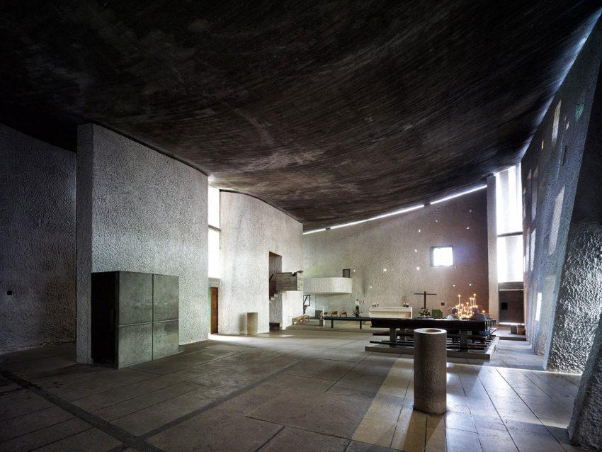 Le Corbusier Ronchamp Chapel chapelle notre dame du haut ArchEyes cemal emden