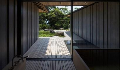 kengo kuma house japan garden