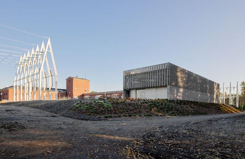 Imatra GIS Electricity Substation byVirkkunen and Co Architects