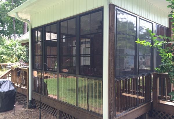 sunroom patio porch conversion